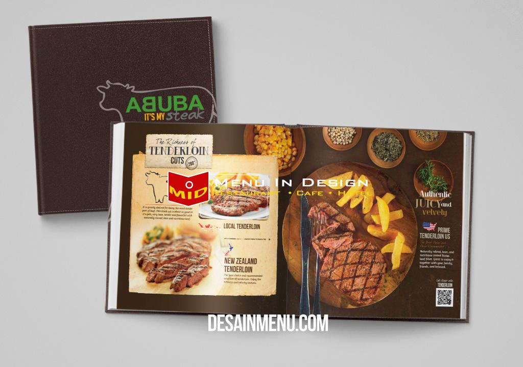 desain menu abuba steak