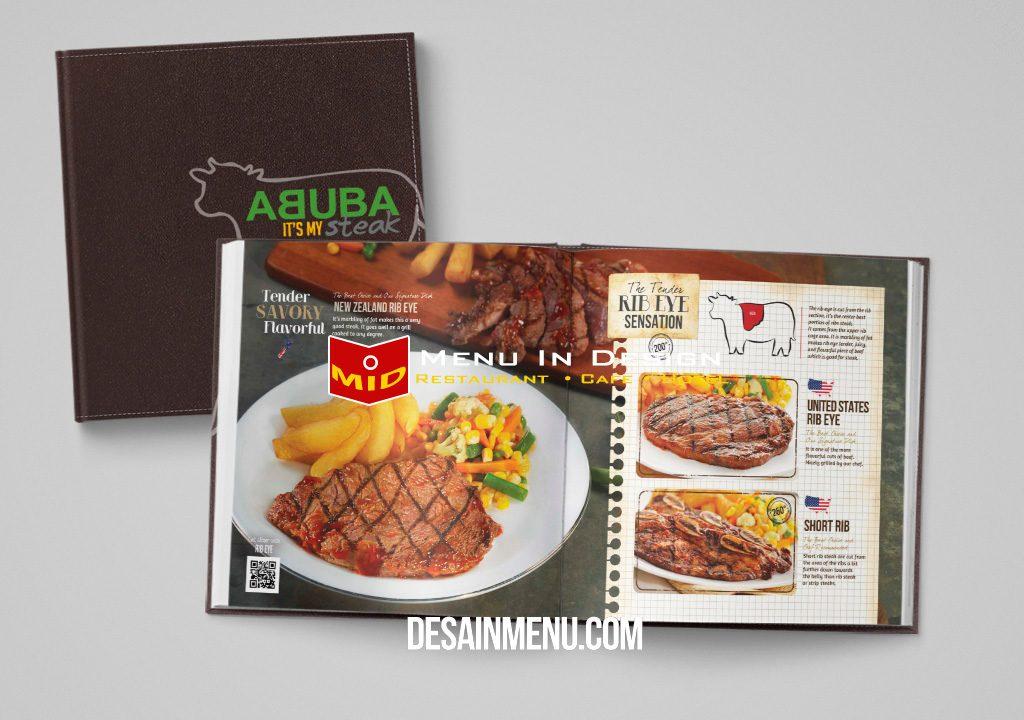 desain buku menu