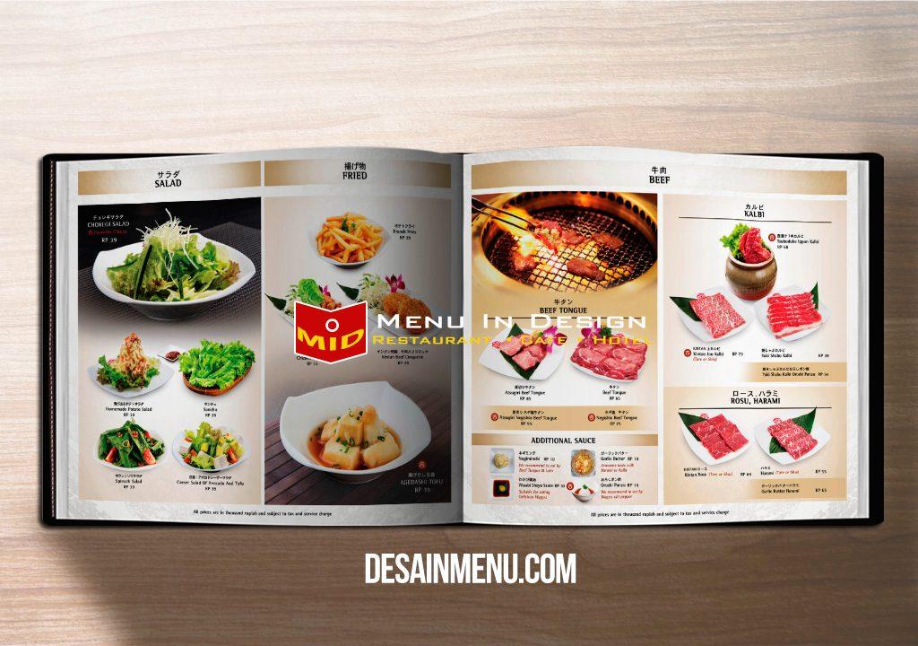buku menu cover kulit