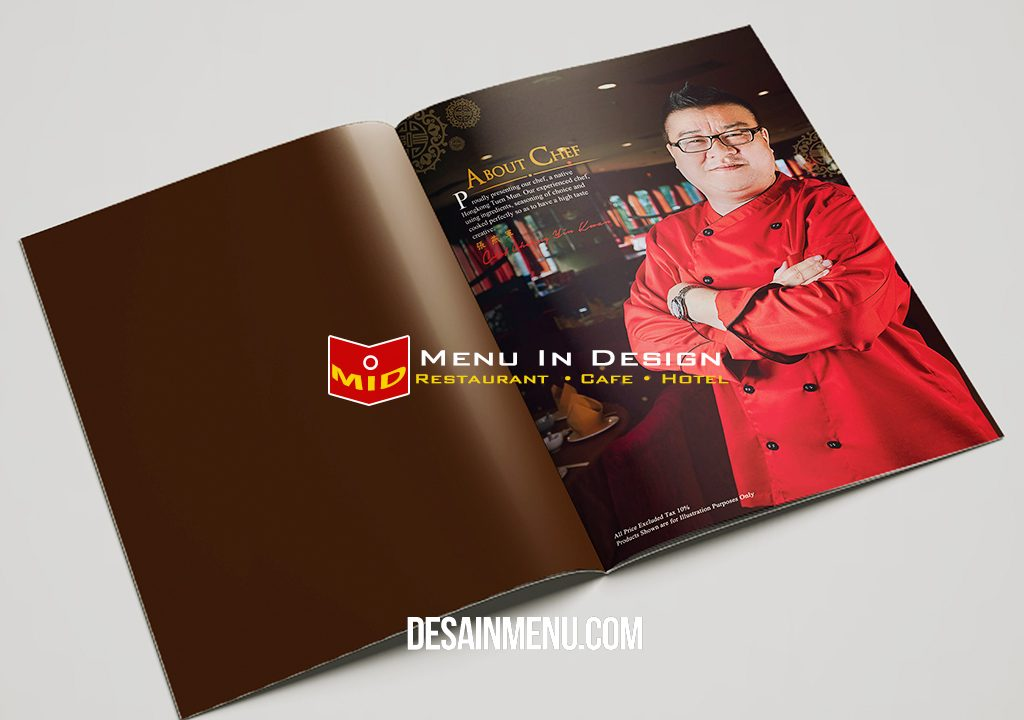 desain menu rose garden