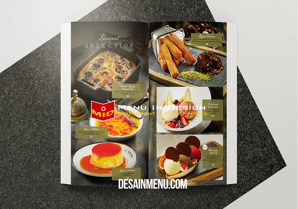 desain menu cafe