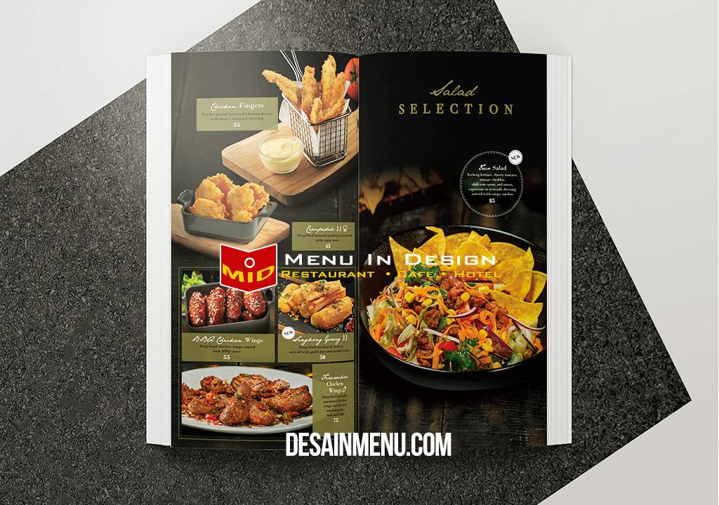 desain menu restoran