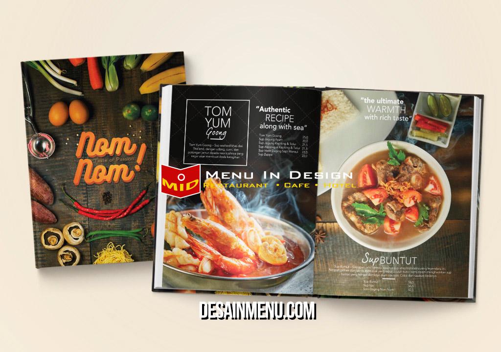 desain menu resto